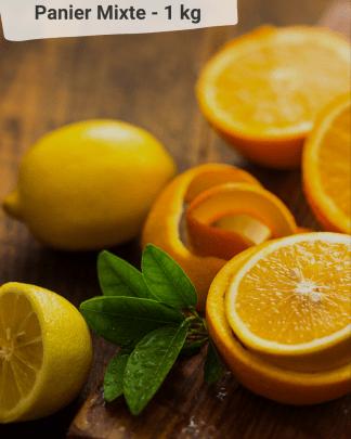 Panier Mixte Fruits et Confiture des VERGERS DE BOIRIE A MENTON