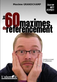 couverture Les 60 maximes du référencement