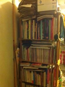 une de nos bibliothèques de livre de cuisine