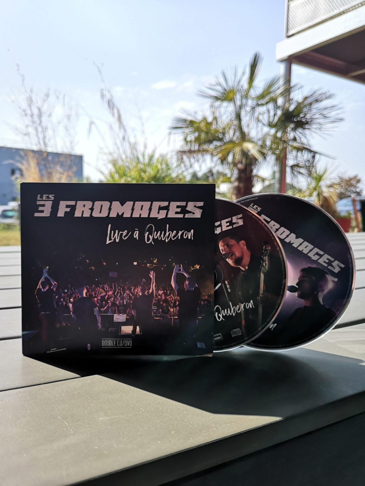Les 3 Fromages CD/DVD «Live à Quiberon»
