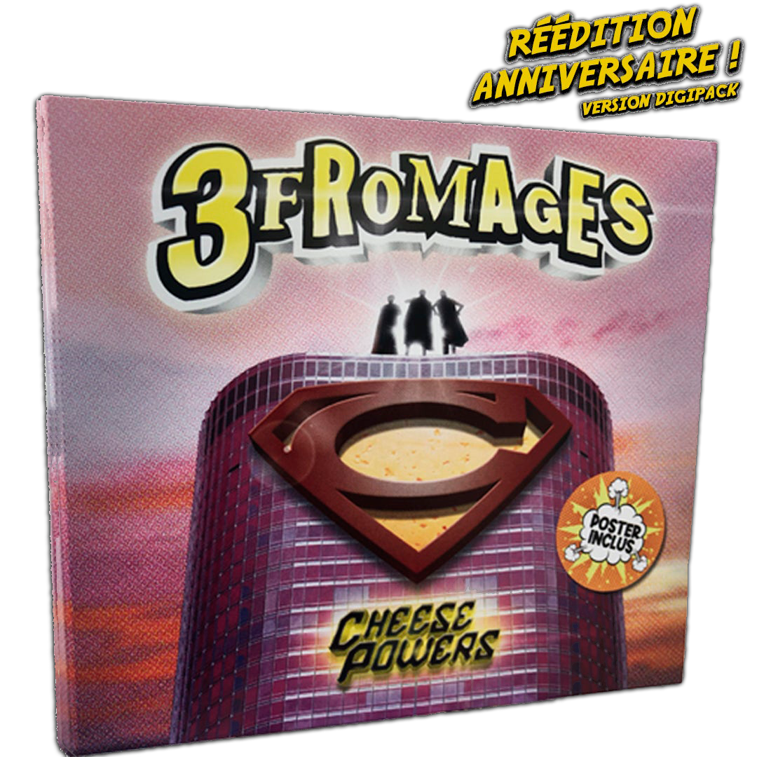 Les 3 Fromages : Cheese Powers réédition