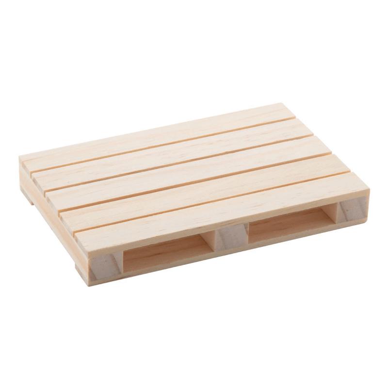 sous verre en bois en forme de palette