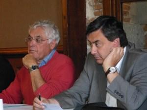 Guy Delléa et M. le Maire Patrick Cassany