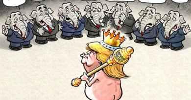 Le Roi nu : Quand le $ US devient… monnaie de singe!