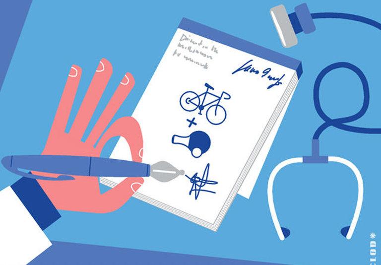 Sport sur ordonnance pour séropos : Sportons-nous mieux !