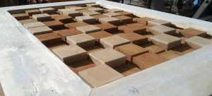 Tableau briques finition lissée - Les adobes