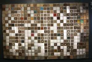 Mur éclairant decoratif briques avec intégration de verre - Les adobes