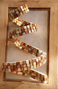Spirale en briques d'adobe - Les adobes