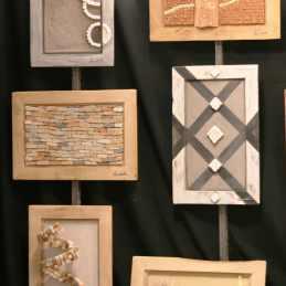 Tableaux de briques et enduits - Les adobes