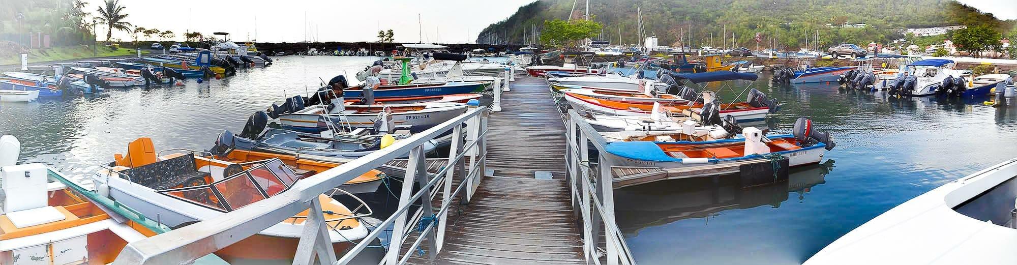 Le port Deshaies