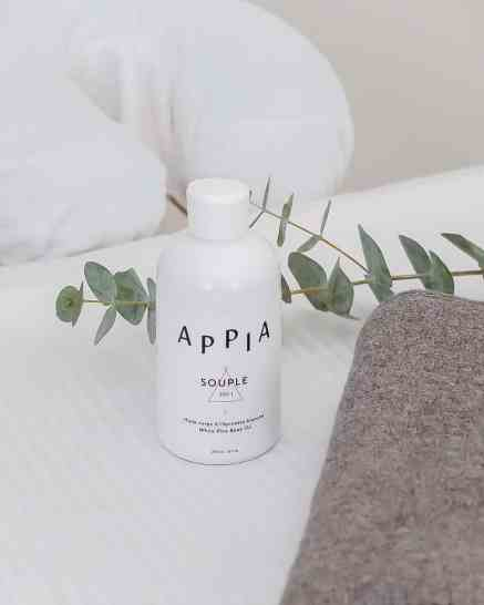 Skincare products by Appia