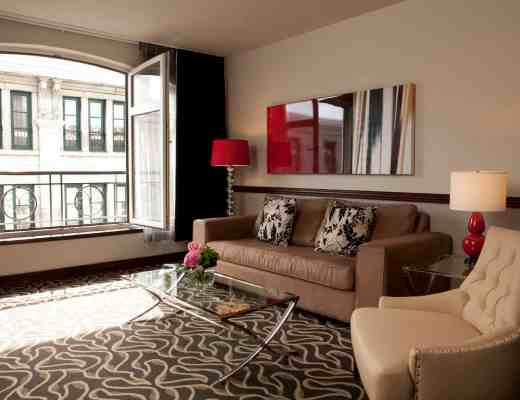 St- Sulpice hotel Deluxe suite