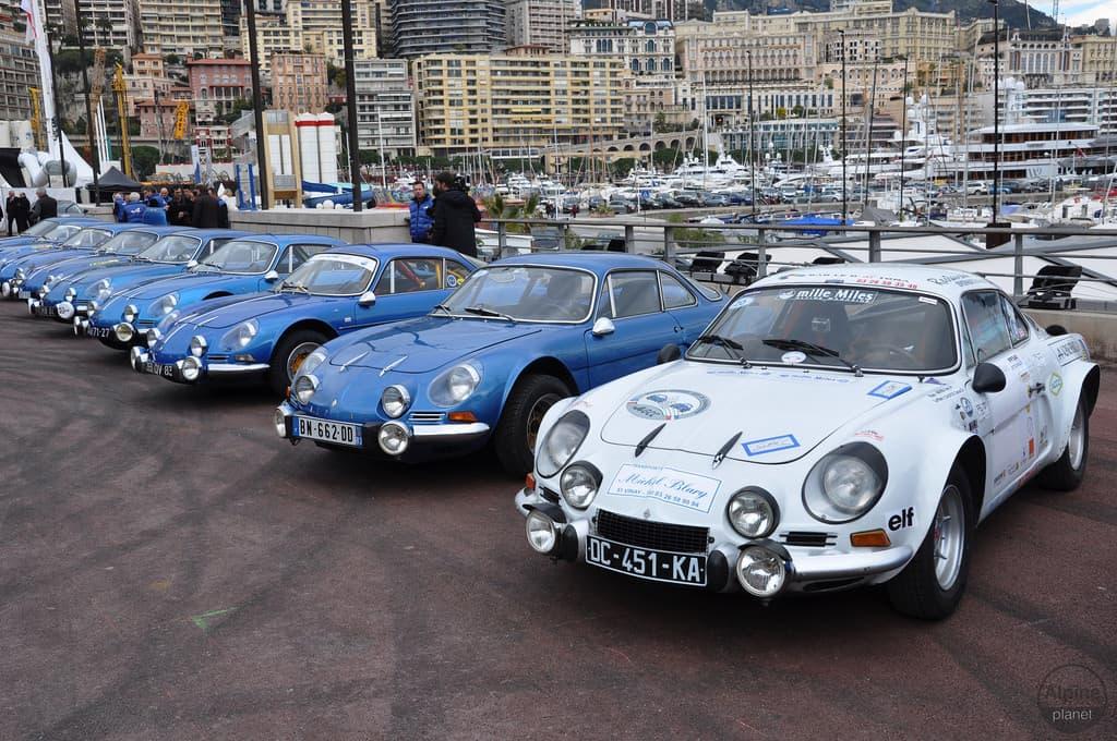 Alpine Parc Statique Monaco 4 | Le 16 Février 2016 : le retour d'Alpine avec l'Alpine Vision !