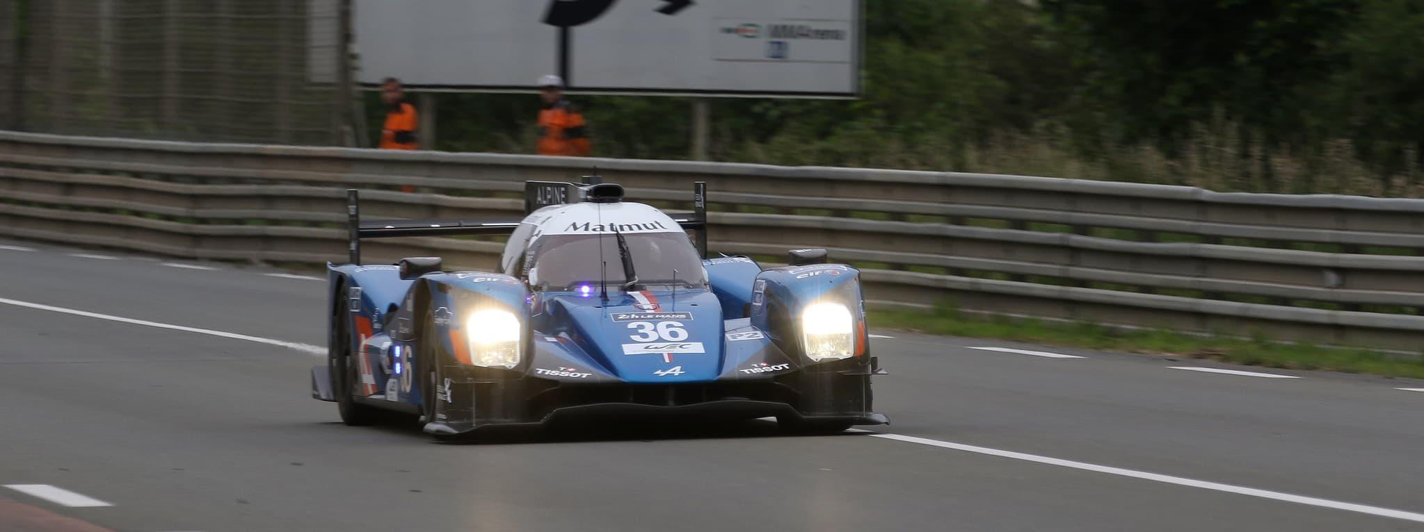 Journée Test le Mans 2016 - Alpine A460 n°36