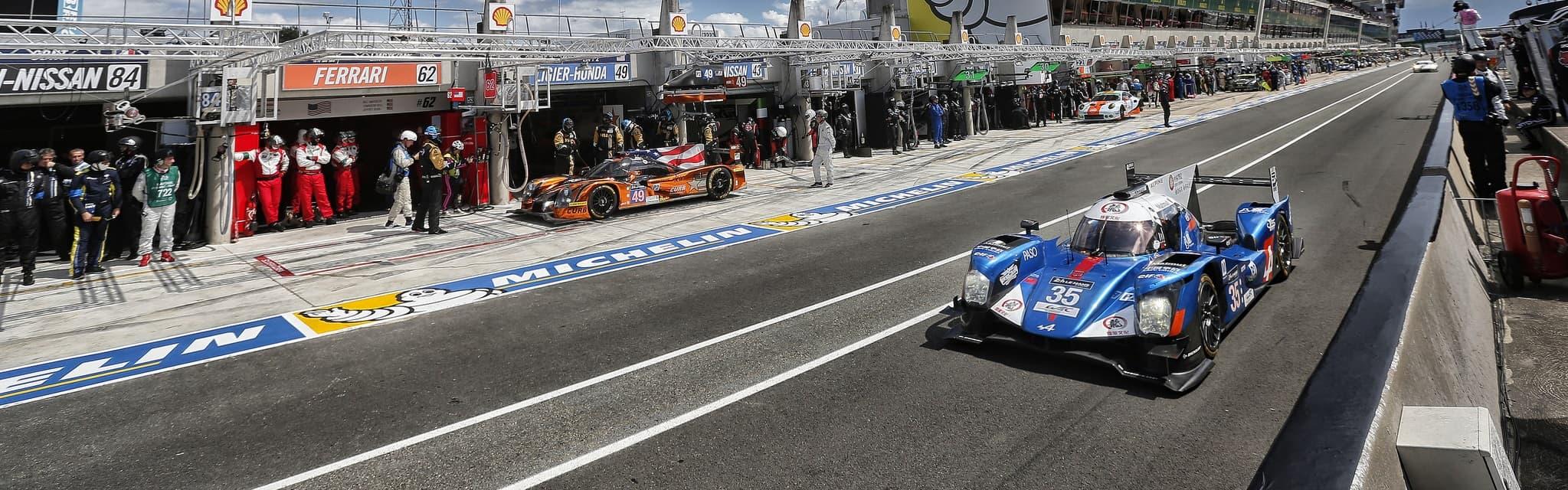 Qualification (Q1) - Baxi DC Racing aux 24 Heures du Mans
