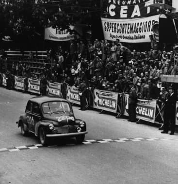 Mille Miles - Renault 4CV de Rédélé-Pons - 1954
