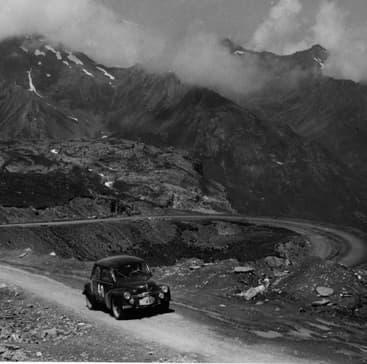 Rallye des Alpes 1952 | Jean Rédélé