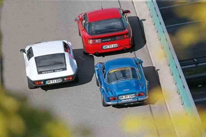 Alpine A110 1300 VC Alpine A310 V6 Alpine A610 13