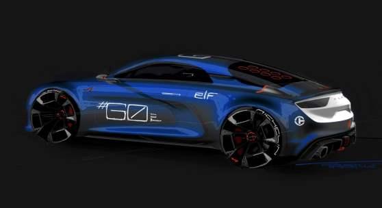 Alpine Célébration Concept Car 10 - Alpine Célébration