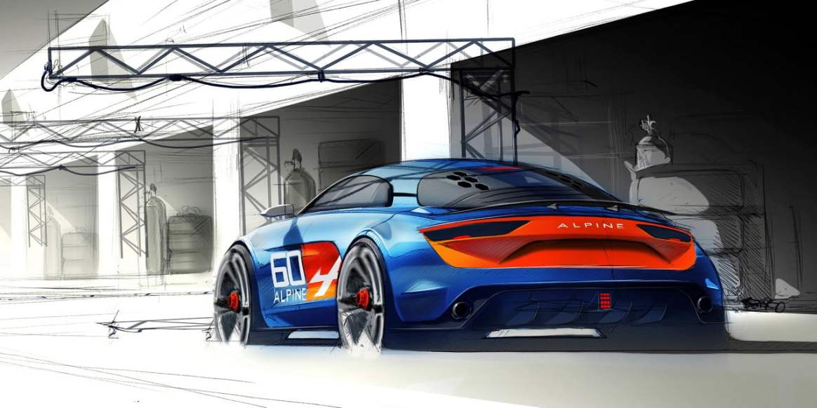Alpine Célébration Concept Car 12 - Alpine Célébration