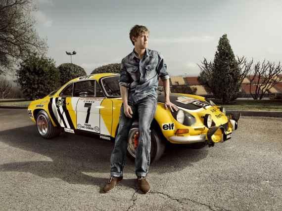 Sebastian Vettel Alpine A110