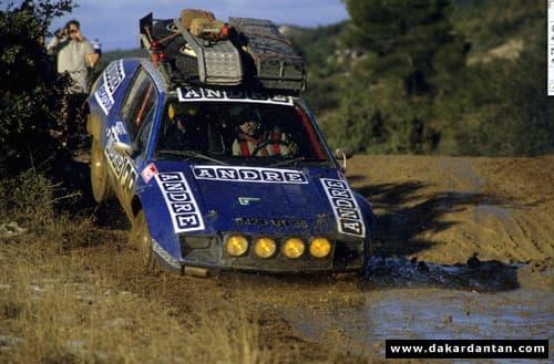 Alpine A310 Paris-Dakar 1981