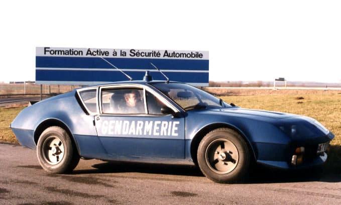 Alpine A310 V6 BRI Gendarmerie 5 | BRI : Alpine, au sein d'une unité d'élite