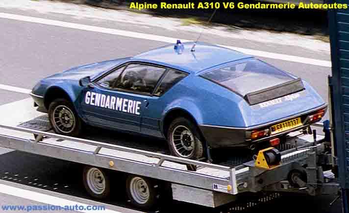 Alpine A310 V6 BRI Gendarmerie 6 | BRI : Alpine, au sein d'une unité d'élite