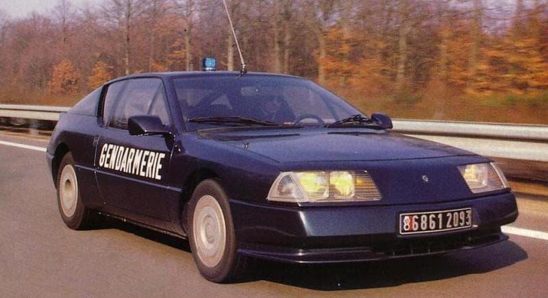 Alpine GTA BRI Gendarmerie 4 | BRI : Alpine, au sein d'une unité d'élite