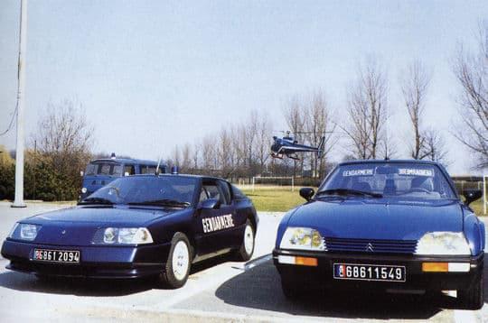 Alpine GTA BRI Gendarmerie 5 | BRI : Alpine, au sein d'une unité d'élite