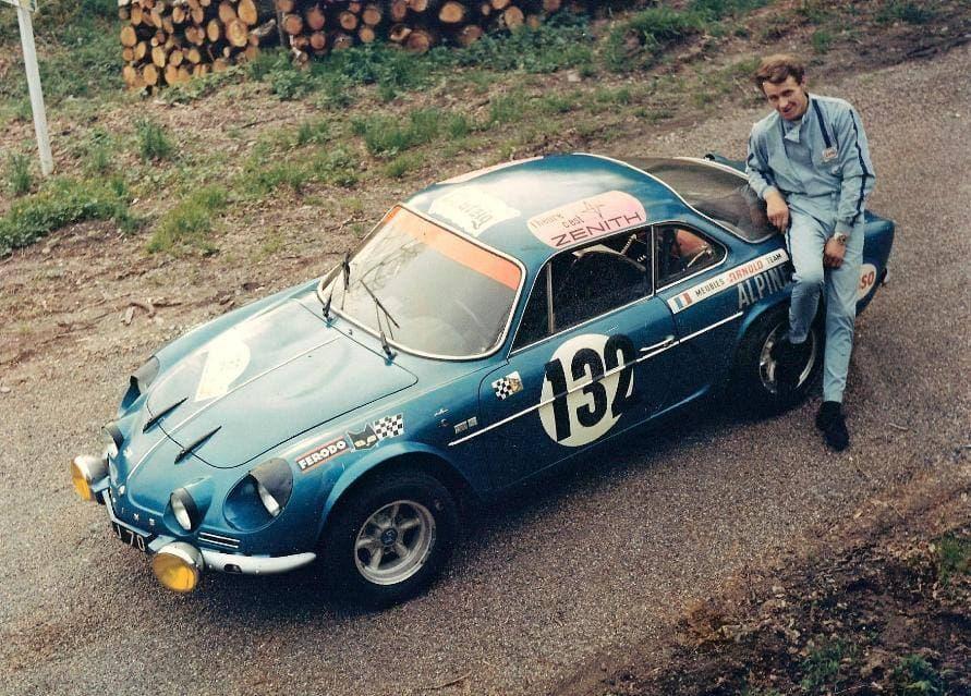 Jacques Henry Alpine A110 7   Jacques Henry, le véritable Gentleman Driver sur Alpine !