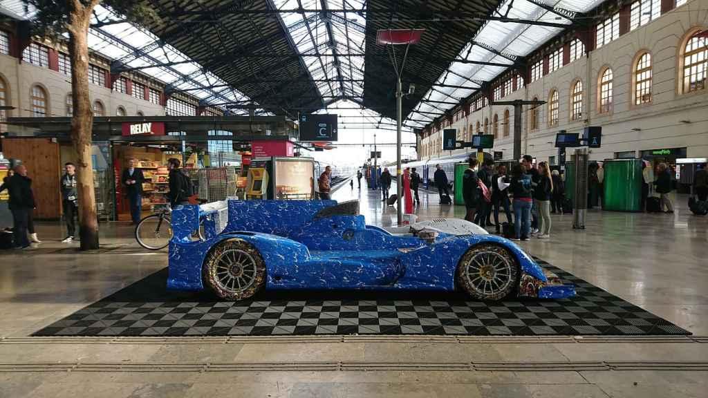 Alpine A450 Art Car Ghass Gare Marseilles 11 | A la rencontre de l'Alpine A110 X FELIPE PANTONE au Art Paris