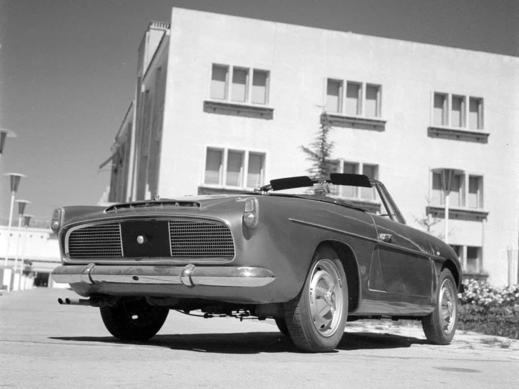 FASA Renault Alpine A108 Cabrio 1963–66 3   FASA Renault Alpine A110 : Amor de España !