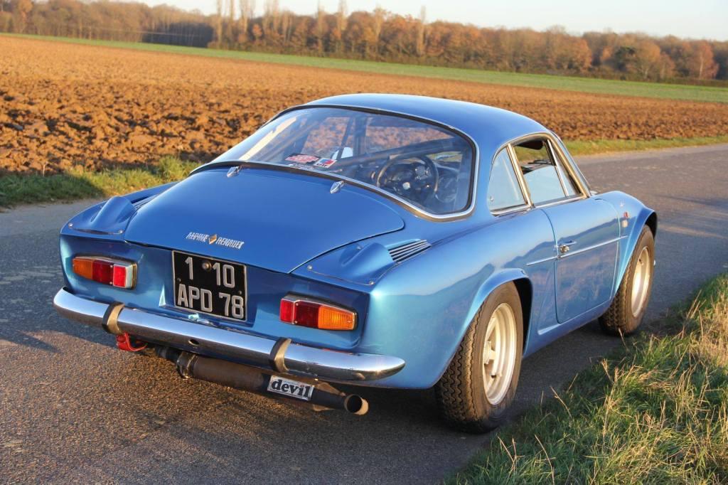 Jean Pascal DAuce Alpine A110 1300 1971 4 | Jean-Pascal Dauce et son Alpine A110 1300 de 1971