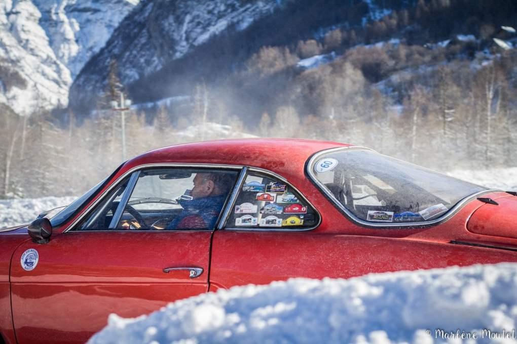Alpine A110 A310 Orcières piste glace marlene moutet - 12