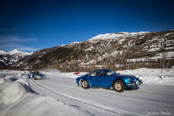 Alpine A110 A310 Orcières piste glace marlene moutet - 17