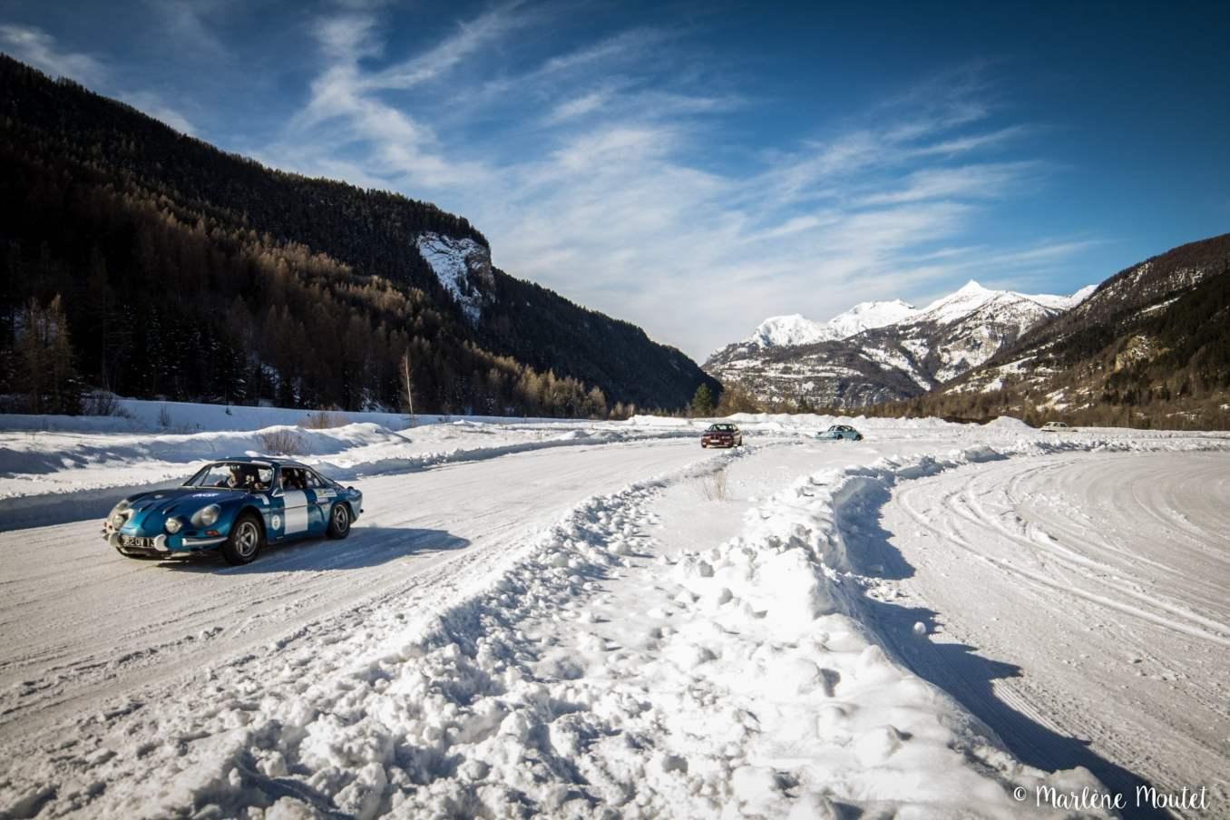 Alpine A110 A310 Orcières piste glace marlene moutet 23 scaled | Des Alpine et 1000 mètres de piste sur glace !