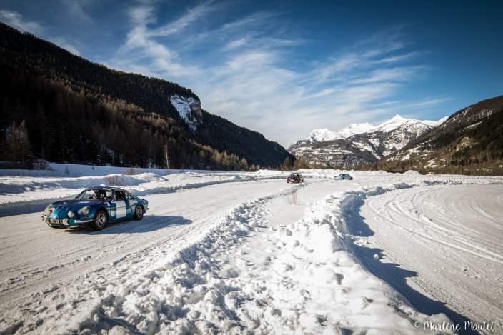 Alpine A110 A310 Orcières piste glace marlene moutet - 23