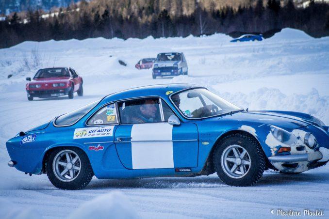 Alpine A110 A310 Orcières piste glace marlene moutet - 32