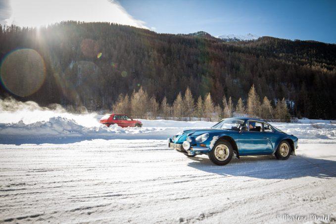 Alpine A110 A310 Orcières piste glace marlene moutet - 45