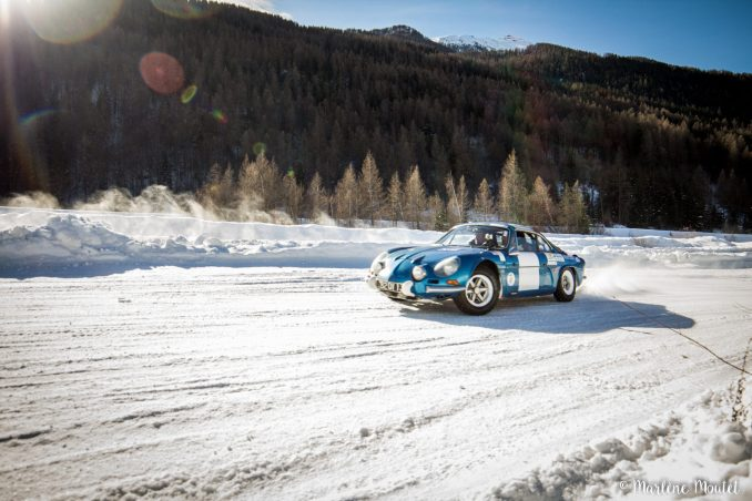 Alpine A110 A310 Orcières piste glace marlene moutet - 46