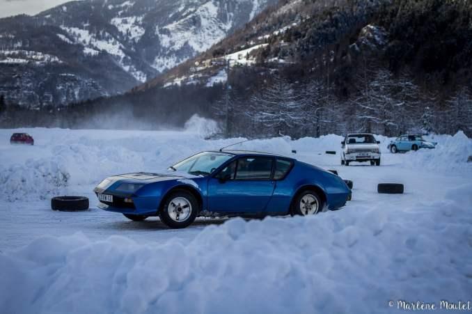 Alpine A110 A310 Orcières piste glace marlene moutet - 5