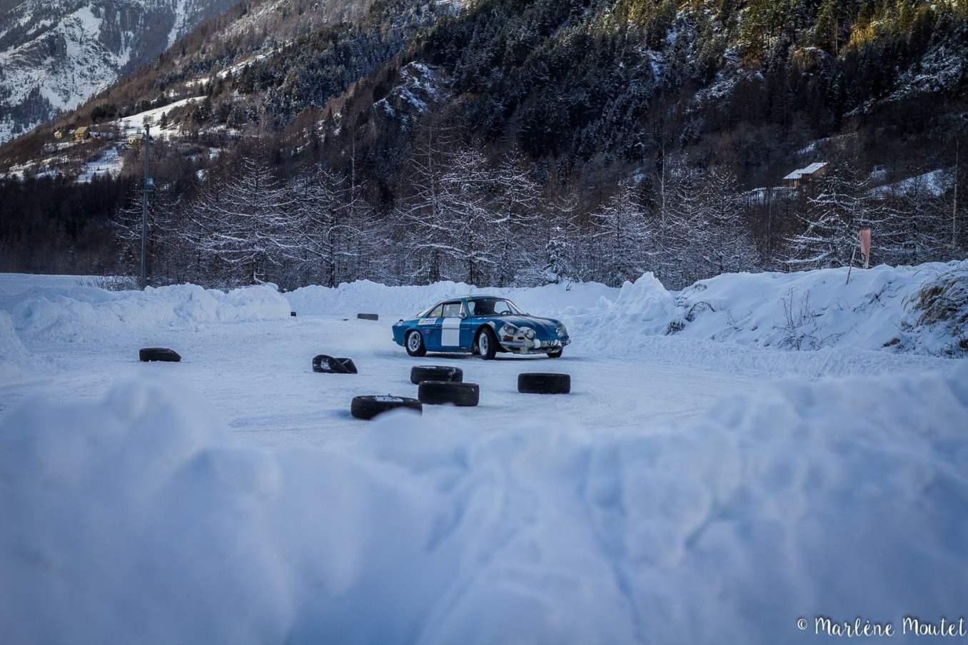 Alpine A110 A310 Orcières piste glace marlene moutet 6 | Des Alpine et 1000 mètres de piste sur glace !