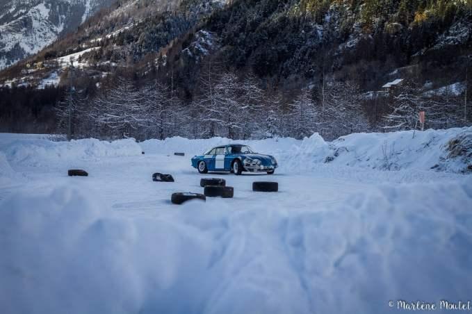 Alpine A110 A310 Orcières piste glace marlene moutet - 6