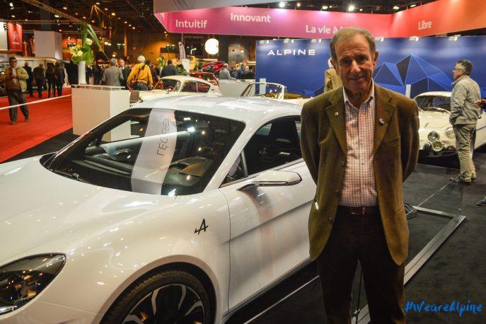 Alpine Vision Jean Ragnotti GPE-Auto Rétromobile 2017