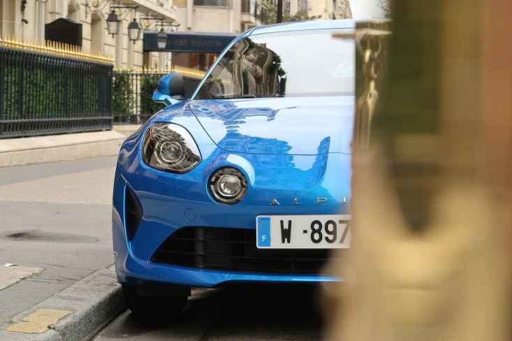 Alpine A110 Good France Paris Alain Ducasse - 10