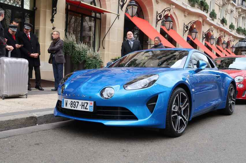 Alpine A110 Good France Paris Alain Ducasse - 3