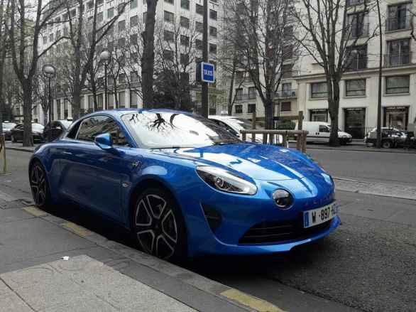 Alpine A110 Good France Paris Alain Ducasse - 7