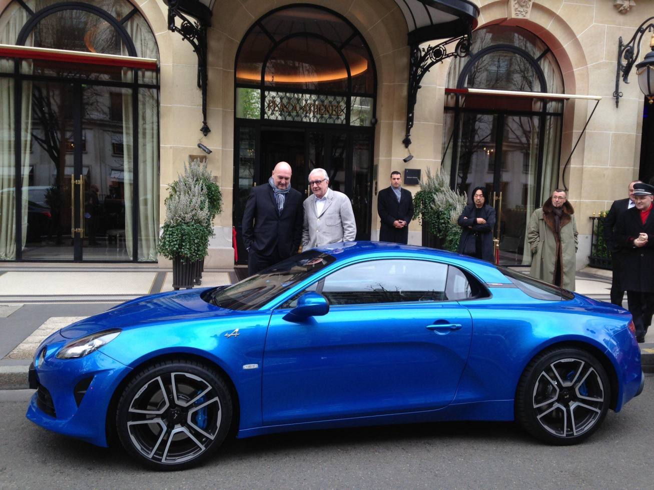 Alpine A110 Good France Paris Alain Ducasse - 8
