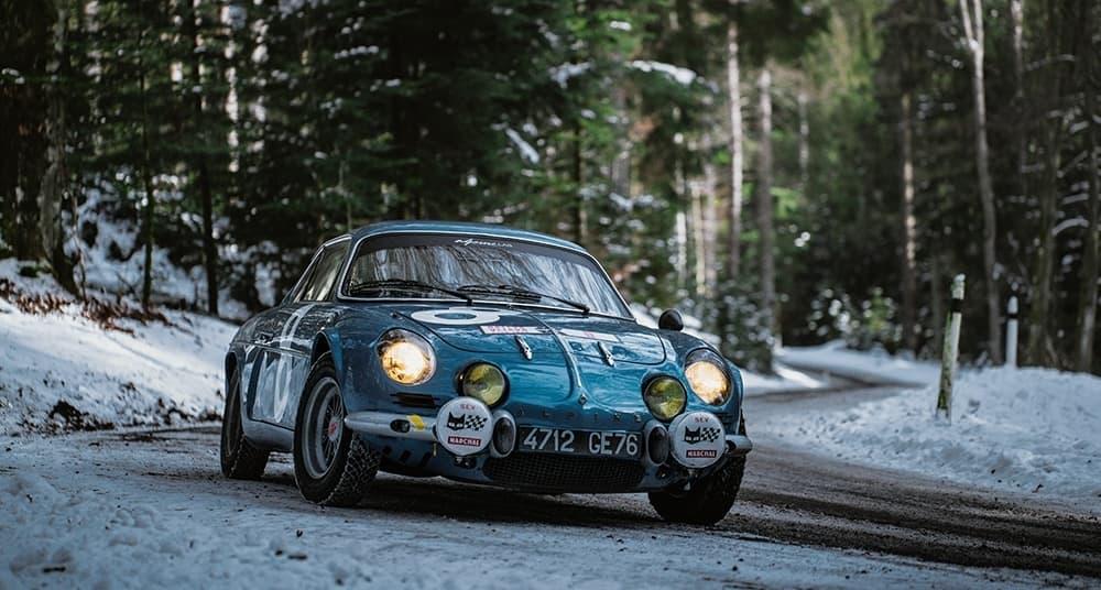 Alpine LAB et son Alpine A110 1300S Usine de 1968 Classic Driver - 48